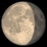 Waning Gibbous Moon Symbol whatsapp emoji