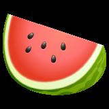 Watermelon whatsapp emoji