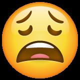 Weary Face whatsapp emoji