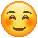 White Smiling Face whatsapp emoji