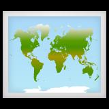 World Map whatsapp emoji