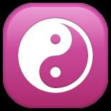 Yin Yang whatsapp emoji
